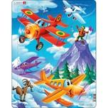 Larsen Rahmen-Puzzle 20 Teile 36X28 cm Flugzeuge