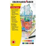 Eberhard Faber Aquarellbuntstifte 12 FarbenPinsel
