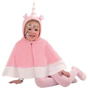 Kunterbunt Kostüm Einhorncape mit Kapuze