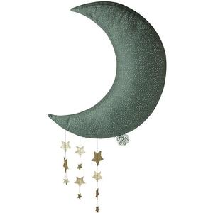 Picca Loulou Wand-Deko Picca Loulou Mond Grau 45cm