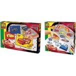 SES Creative 2in1 Set Mosaike legen und Stempeln - Cars 3