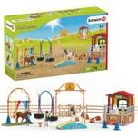 Schleich 72149 Farm World: Agility bei der Pferdebox - Special Set