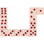 Goki Dominospiel Marienkäfer Kinderspiel