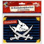 Coppenrath Einladungskarten - Capt'n Sharky - Einladung