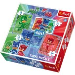 Trefl 4in1 Puzzle 35/48/54/70 Teile PJ Masks