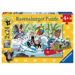 Ravensburger 2er Set Puzzle je 24 Teile 26x18 cm Der kleine Maulwurf