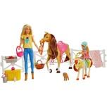 Mattel Barbie Reitspaß mit Barbie blond Chelsea Pferd und Pony Pferde Spielzeug
