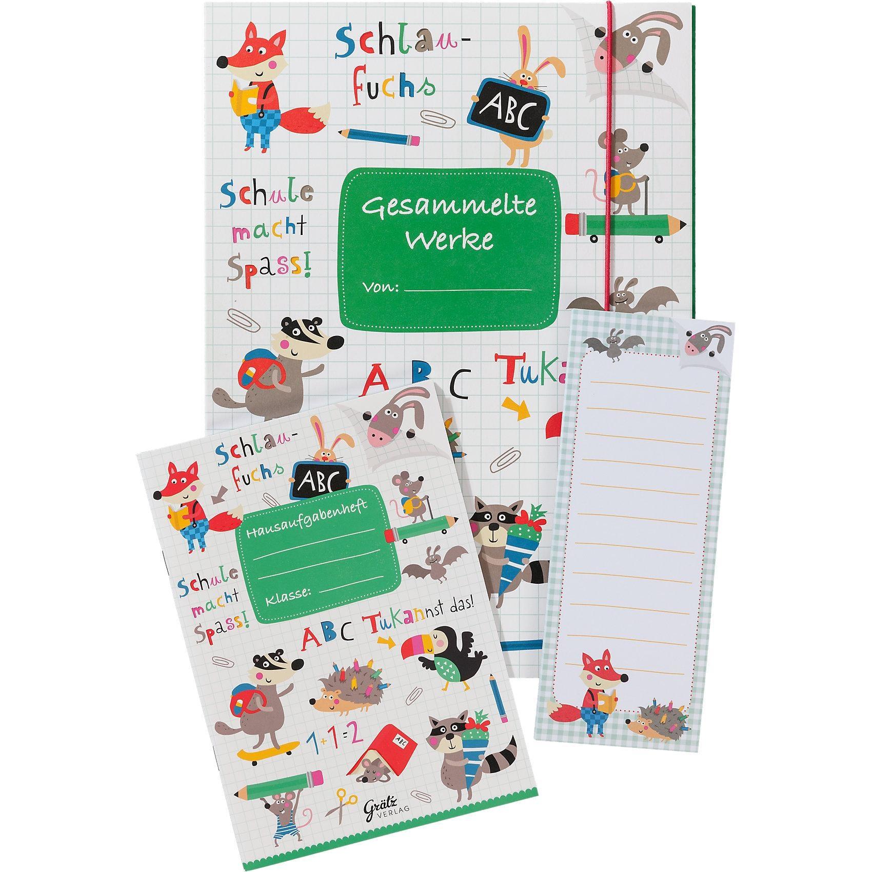 Grätz Verlag Schulset ABC 3-tlg.