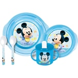 P:OS Baby-Geschirrset Mickey Mouse 5-tlg.