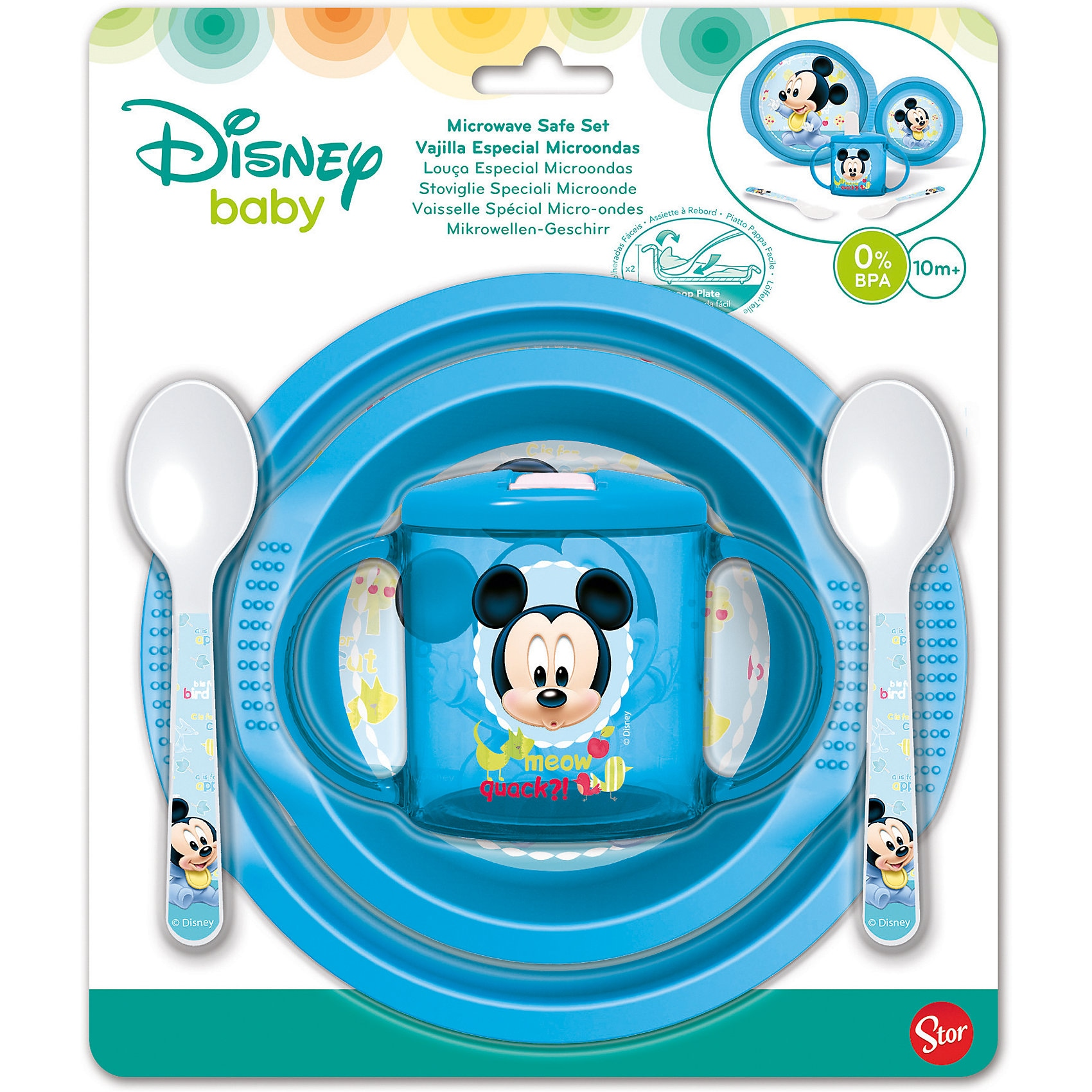 P:OS Baby-Geschirrset Mickey Mouse 5-tlg.