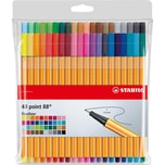 STABILO Fineliner point 88 40 Farben