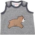 People Wear Organic Spieler mit Bären-Applikation für Jungen Organic Cotton