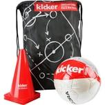 "Hudora Fußball-Set ""kicker Edition"" Matchplan"