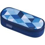 Herlitz Etui-Box Blue Cubes