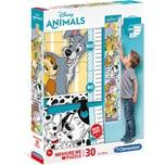 Clementoni Messlatten Puzzle 30 Teile - Disney Animals
