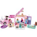 Mattel Barbie 3-in-1 Super Abenteuer-Camper Barbie Auto Barbie Wohnmobil Barbie Wohnwagen