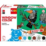 Marabu KIDS Window Color Set DSCHUNGEL 6 x 25 ml