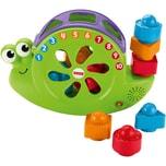 Mattel Fisher-Price Babys Musik Schnecke Steckspielzeug Stapelspiel Lernspielzeug