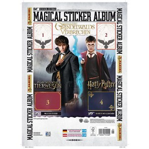 Top Media Harry Potter Phantastische Tierwesen 2 Sammelalbum Sticker-Zeitung