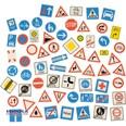 Eduplay Verkehrszeichen-Set Magnetisch 64 Stück