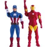IMC Toys Avengers Walkie Talkie Figur Iron Man 3 Captain America