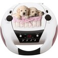 Bigben CD-Player mit Radio CD52 Dogs