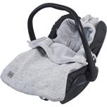 Jollein Kuschelsäckchen für Babyschalen grau