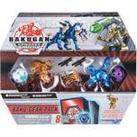 Spin Master Bakugan Baku-Gear Pack mit 4 Armored Alliance Bakugan Ultra Aurelus Dragonoid Ultra Aquo