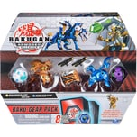 Spin Master Bakugan Baku-Gear Pack mit 4 Armored Alliance Bakugan Ultra Aurelus Dragonoid Ultra Aquo