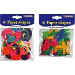 Playbox Papierformen-Set 180 Buchstaben 30 Motive