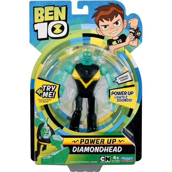 Giochi Preziosi Ben10 Deluxe Actionfiguren 15cm Diamantenschädel Diamondhead