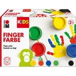 Marabu KIDS Fingerfarbe 6 x 100 ml