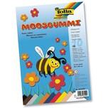 folia 231009 Moosgummi 20 x 29 cm, 10 verschiedene Farben, mehrfarbig (10 Bogen)