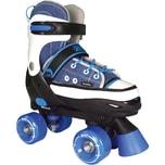 Best Sporting Rollschuhe Quad Style blau Gr.28-31