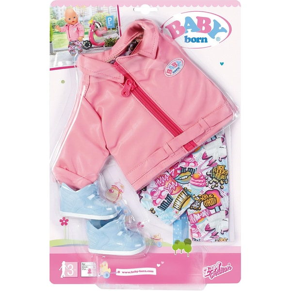 Zapf Creation Baby Born City Deluxe Scooter Outfit Puppenkleidung