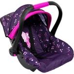BAYER Puppen-Autositz mit Dach lila