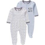 Boley Baby Schlafanzug Doppelpack für Jungen