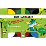 Eberhard Faber Fingermalfarbe Tabaluga 6 Farben 6 x 50 ml