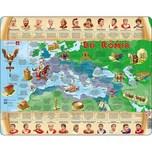 Larsen Rahmen-Puzzle 110 Teile 36x28 cm die Römer