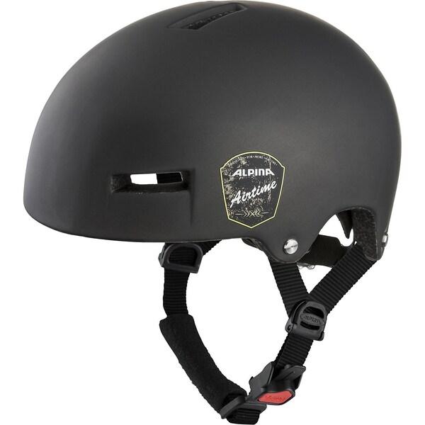 Alpina Fahrradhelm Airtime Black Matt