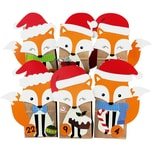 Adventskalender Füchse Weihnachtsfüchse