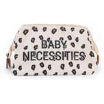 Childhome Kulturbeutel Baby Necessities Leopard Canvas