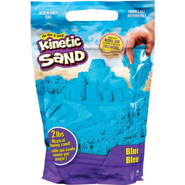 Spin Master Kinetic Sand blau 907 g Beutel