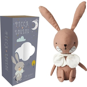 Picca Loulou Stofftier Picca Loulou Hase Pink 18cm