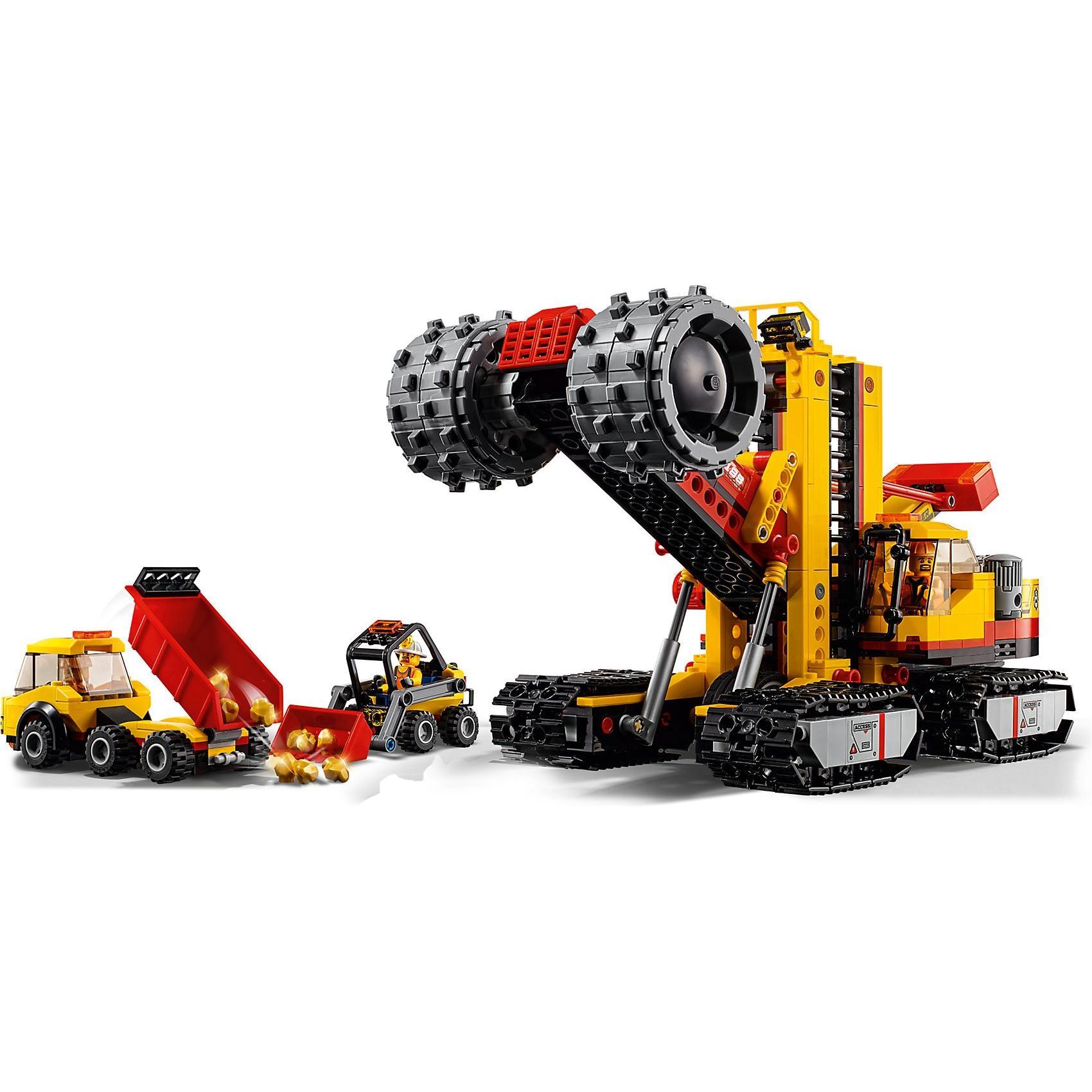 Lego City 60188 Bergbauprofis an der Abbaustätte