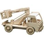 Pebaro Holzbausätze Baufahrzeuge 3 Sets