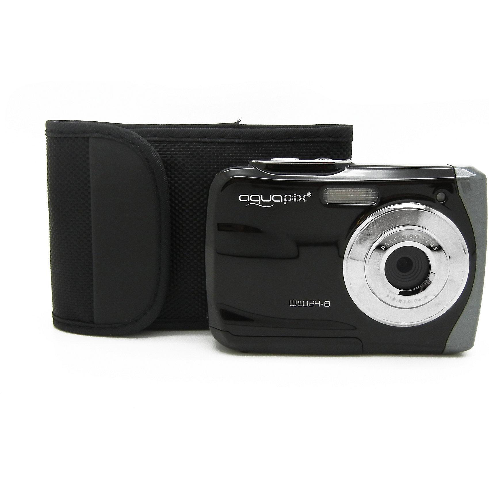 Easypix Unterwasser Digitalkamera Aquapix Splash W1024 schwarz