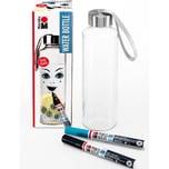 Marabu Porzellan- Glasfarben-Set Wasserflasche