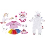Zapf Creation Exklusiv Baby Born Great Value Set Unicorn