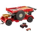 Mattel Hot Wheels Monster Trucks 2-In-1 Crashrennen-Truck